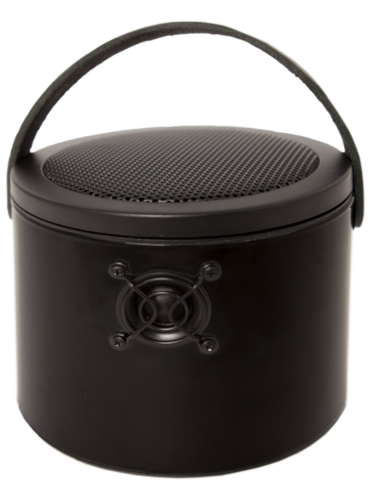 "Black SoundBucket - RAL 9005 ""Jet Black"""