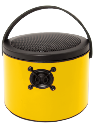 "Yellow SoundBucket - RAL 1023 ""Traffic Yellow"""